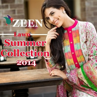 Zeen Lawn Collection 2014