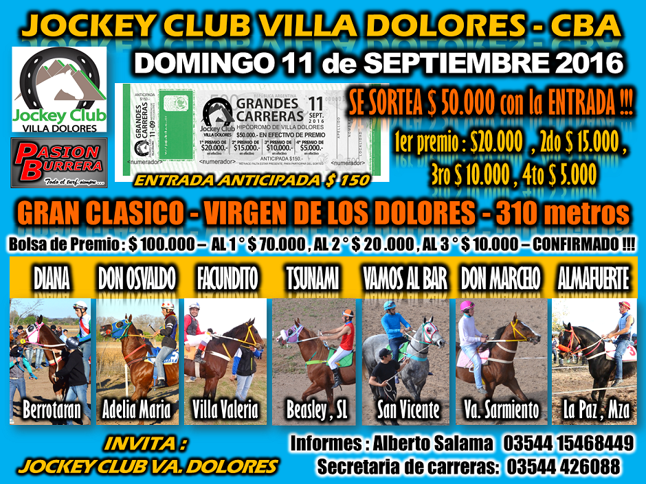 VILLA DOLORES - 11 DE SEPTIEMBRE
