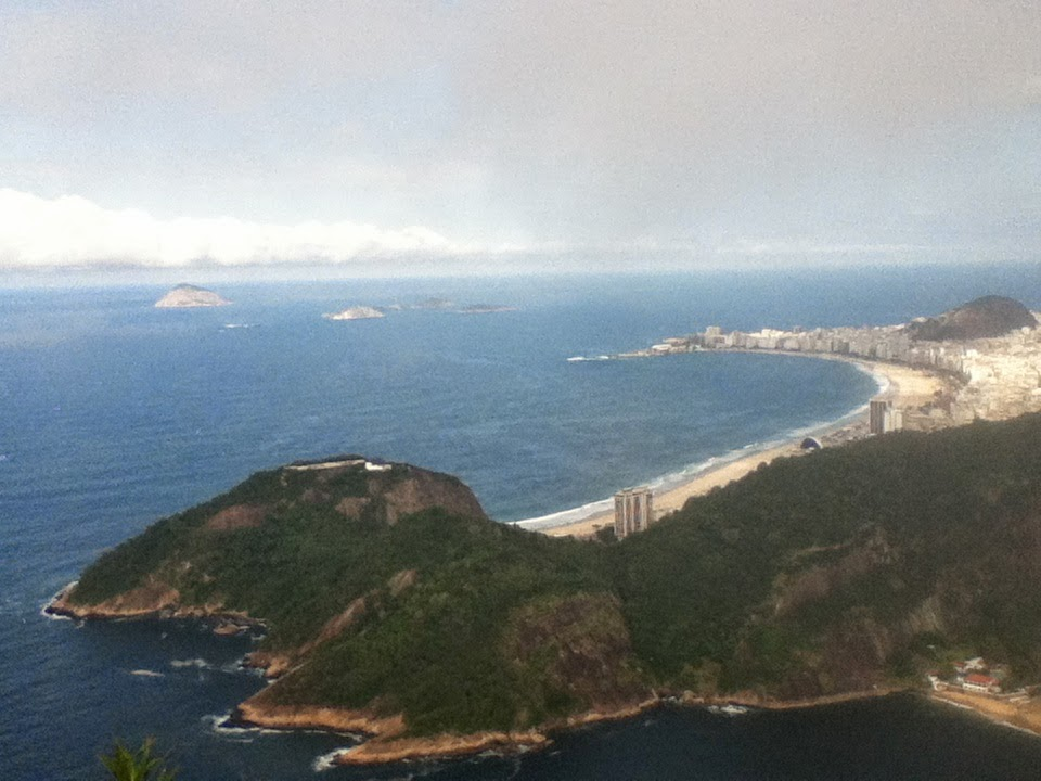 Copacabana from Sugarloaf