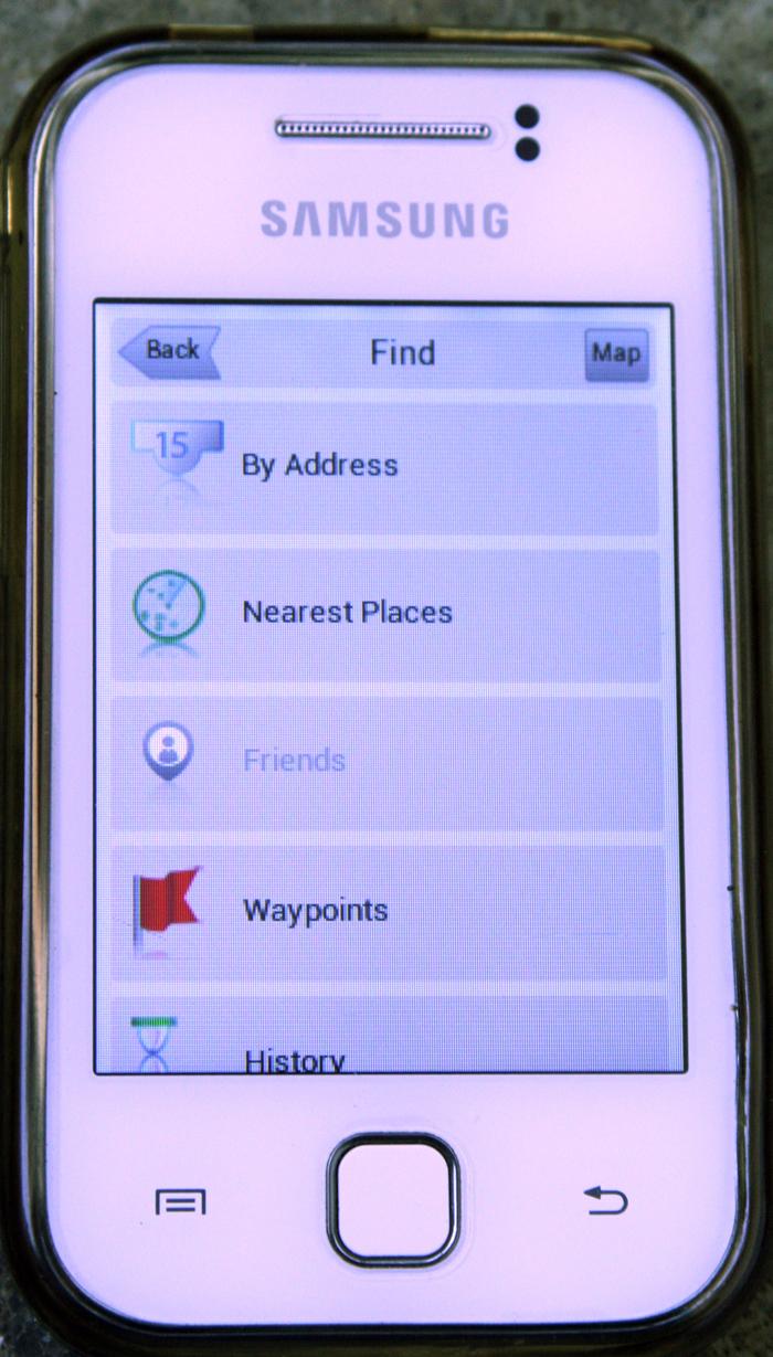 Pertama-tama Download Navitel v.7 apk file lalu transfer ke handphone andro