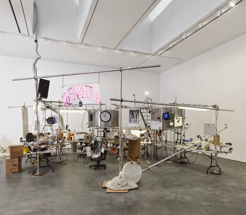 Jason Rhoades at David Zwirner