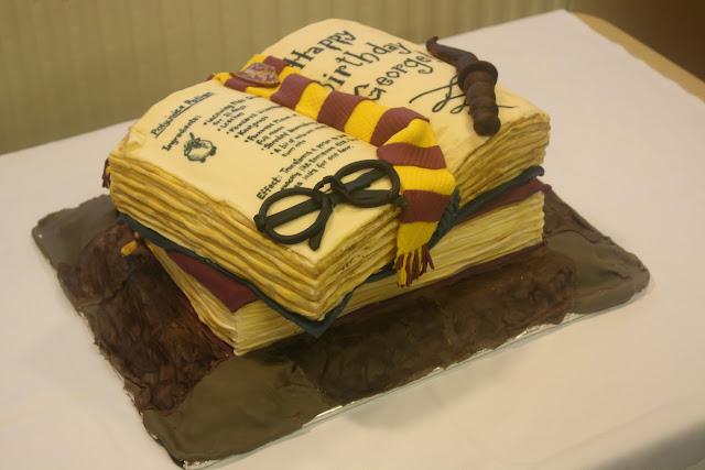 SloppyJoe Baking: Harry Potter Cake (Very original title I ...