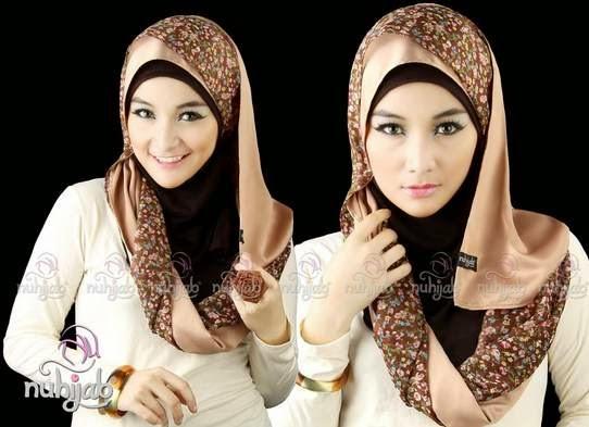 Model hijab elegan untuk acara resmi