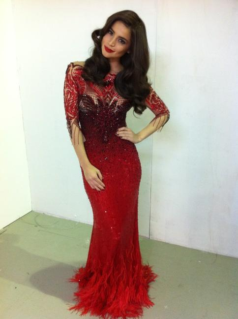 Bechay Blogs: Anne Curtis in Michael Cinco\'s Gown, Philippine ...