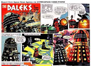 TV21 Comics Black Dalek Doctor Who Custom Character Options Zeg