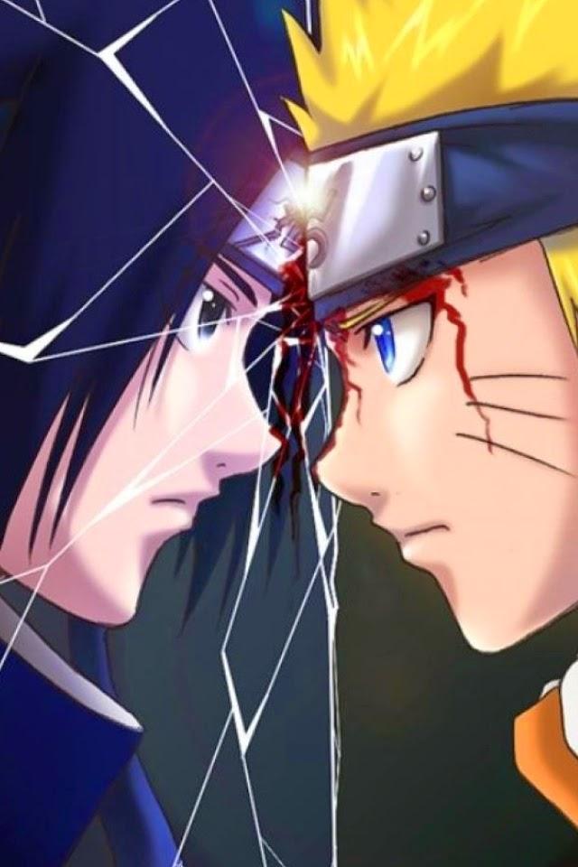 Sasuke VS Naruto Fonds d'écran iPhone 4