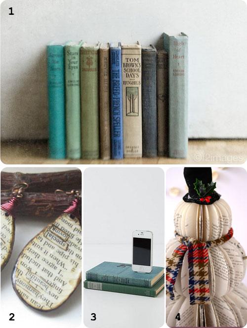 Friday Favorites: Vintage Book Lover's Gift Guide