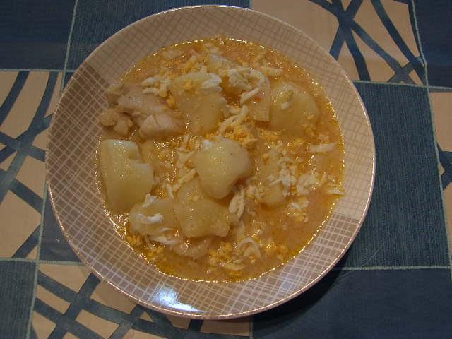 Can joan i sara patatas guisadas con bacalao - Patatas en caldo con bacalao ...