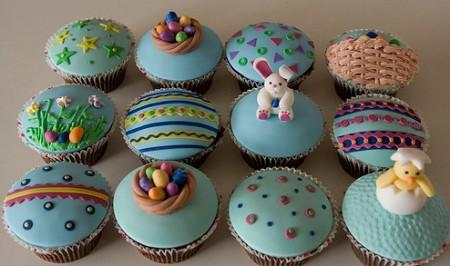 Ideias de cupcakes de páscoa