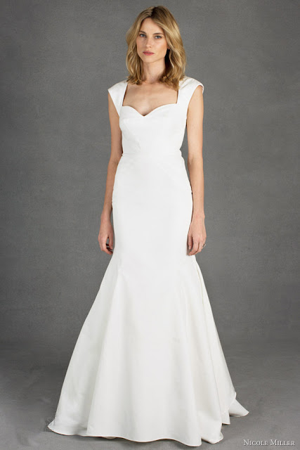 Nicole Miller spring wedding dress 2014