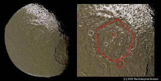 iapetus: is saturn moon artificial?