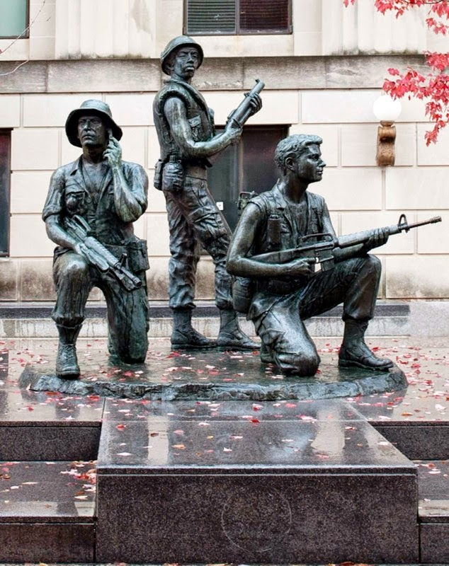 Vietnam Memorial In Nashville, Tenn.