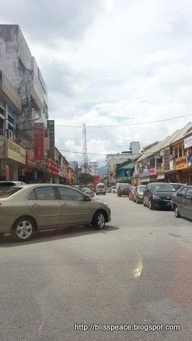 Crowded Ipoh....