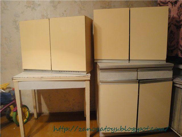 Реставрация старой мебели в декупаж136