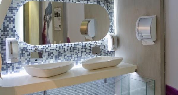 Sarah Decor & Design Cuba de Apoio Triangular  L1034  DECA -> Cuba Para Banheiro Triangular