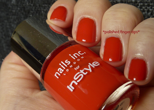 It's Red Babez! - Nails Inc for InStyle Magazine