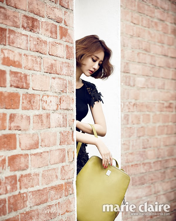 Go Joon Hee - Marie Claire Magazine March Issue 2014