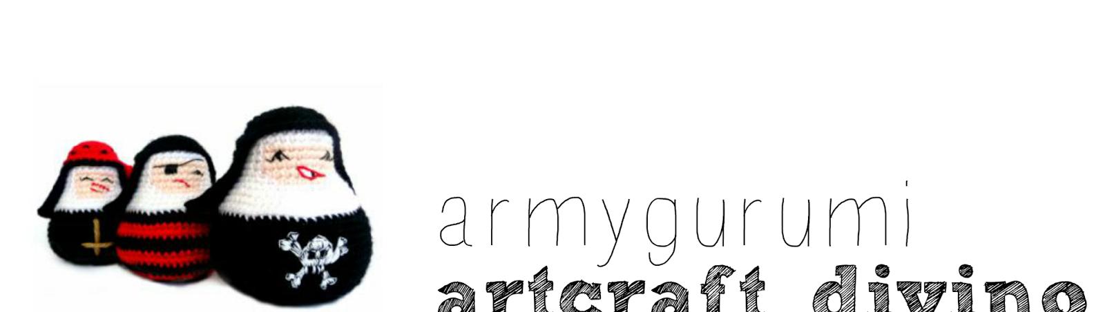Armygurumi, amigurumis y otras cosas de la vida