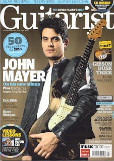 John Mayer on Guitarist Magz
