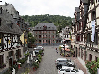 Main Square Oberwesel Germany