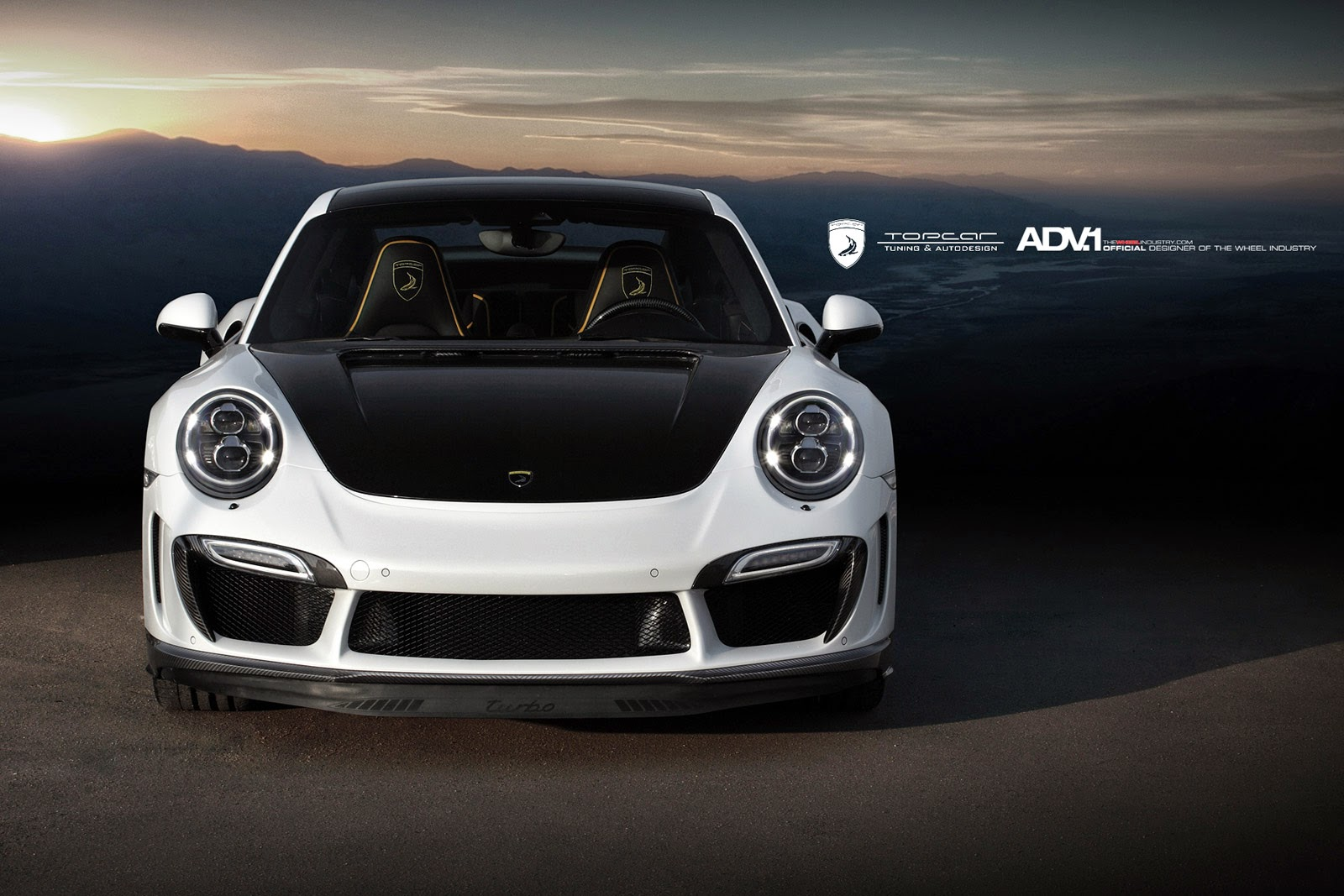 TopCar Porsche Stinger 991 Turbo on ADV5 M.V1 SL By ADV.1 Wheels