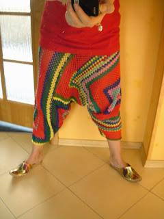 crochet harem pants pattern free
