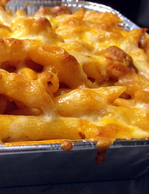 Easy Baked Pasta and Cheese. A childhood favorite.