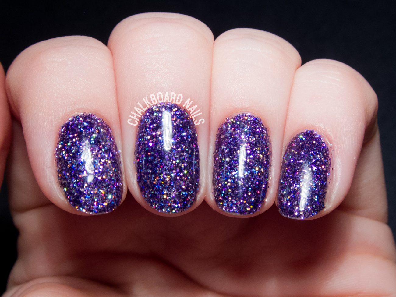 How To Party Like A Rockstar In Purple Glitter Gels Chalkboard