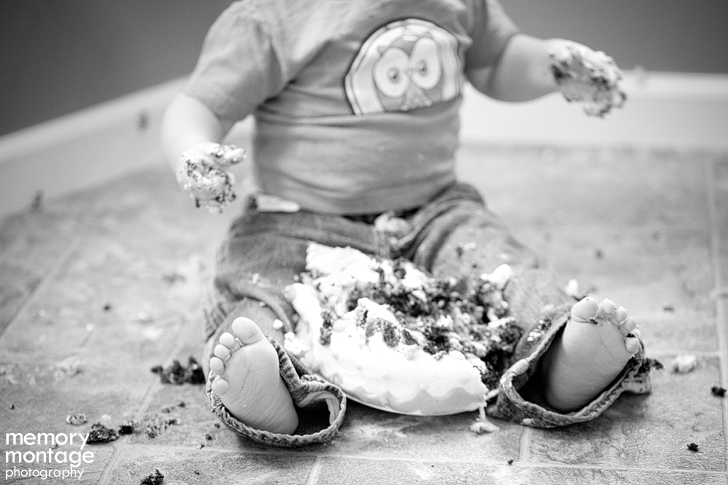 yakima photographer cake smash