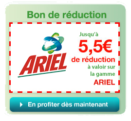 Bon promo bon reduction ariel - Coupon reduction delamaison ...