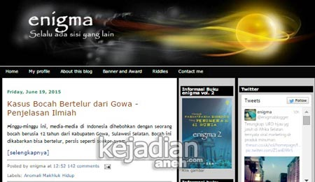 blog Indonesia paling terkenal