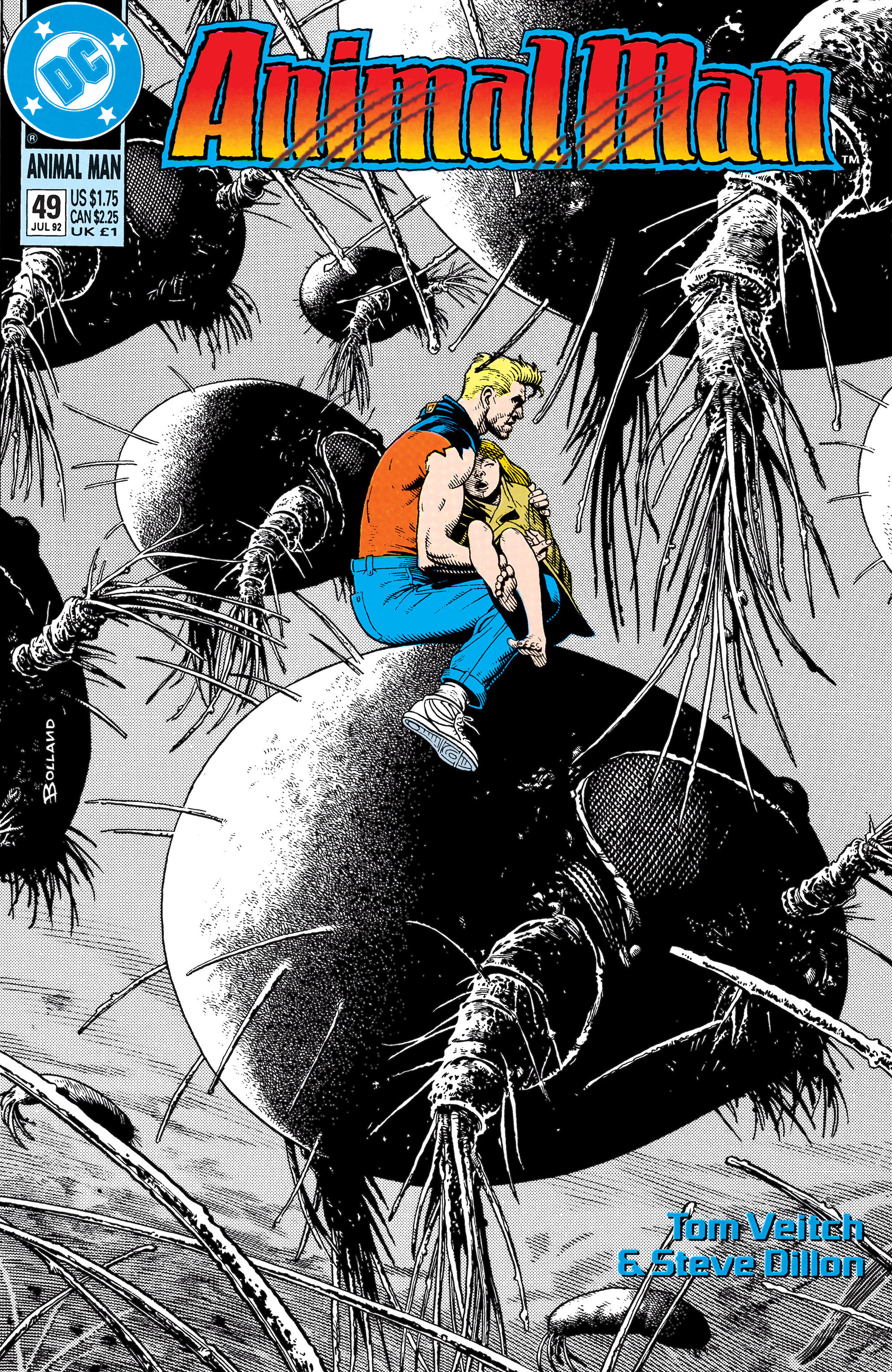 Animal Man issue 49 - Page 1