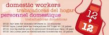 """Campaña por la ratificación del Convenio 189 de la OIT """"12 para 12"""""""