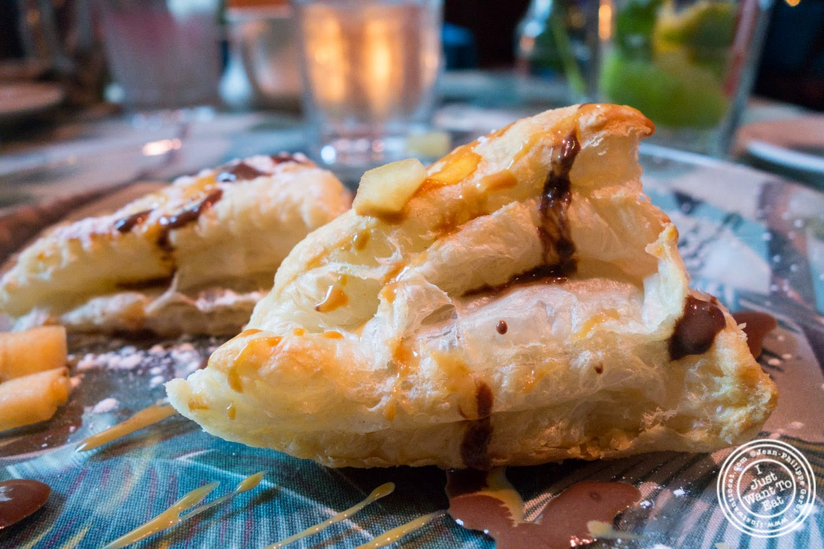 image of banana and chocolate empanadas at Sounds Of Brazil SOB's in NY, New York