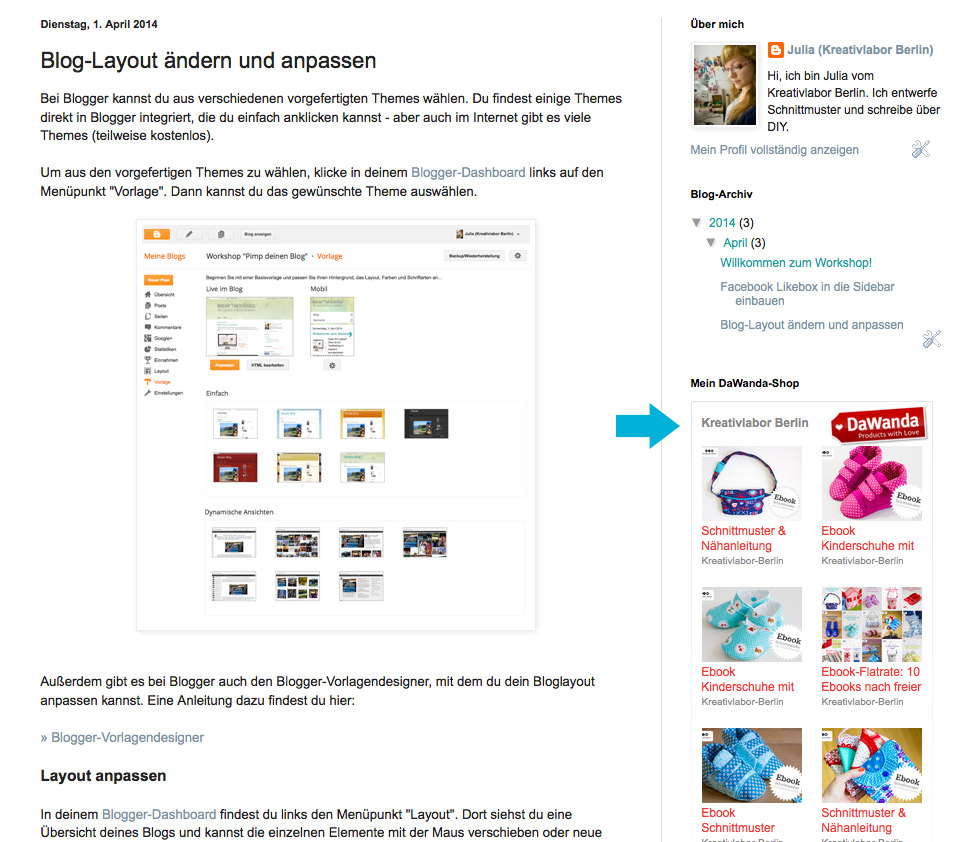 Berühmt Blogger Vorlagen Einfach Galerie - Beispiel Anschreiben für ...