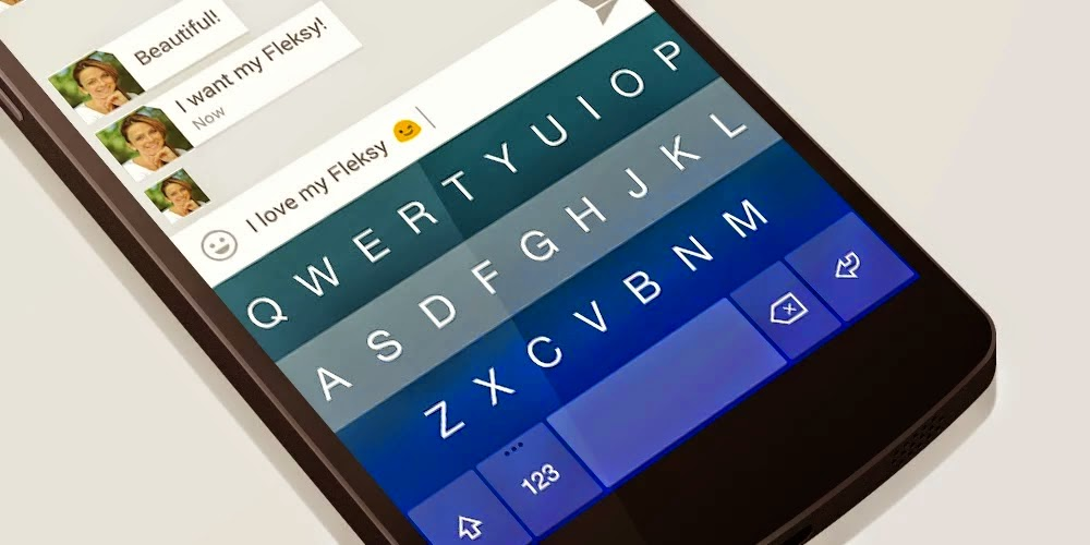 Fleksy Keyboard + Emoji v3.1.3 Final Patched