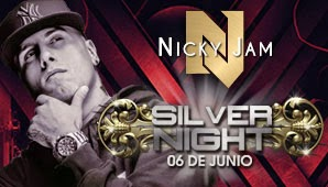 poster  SILVER NIGHT, NICKY JAM Bogota