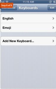 Keyboard Emoji iPad iPhone iPod