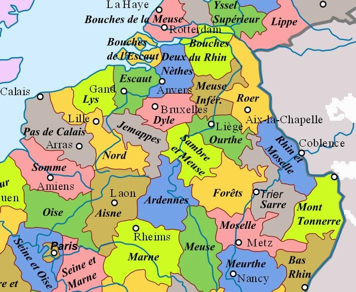when belgium was part of france