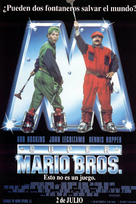 Super Mario Bros, Bob Hoskins, John Leguizamo, Dennis Hopper, Annabel Jankel, Rocky Morton