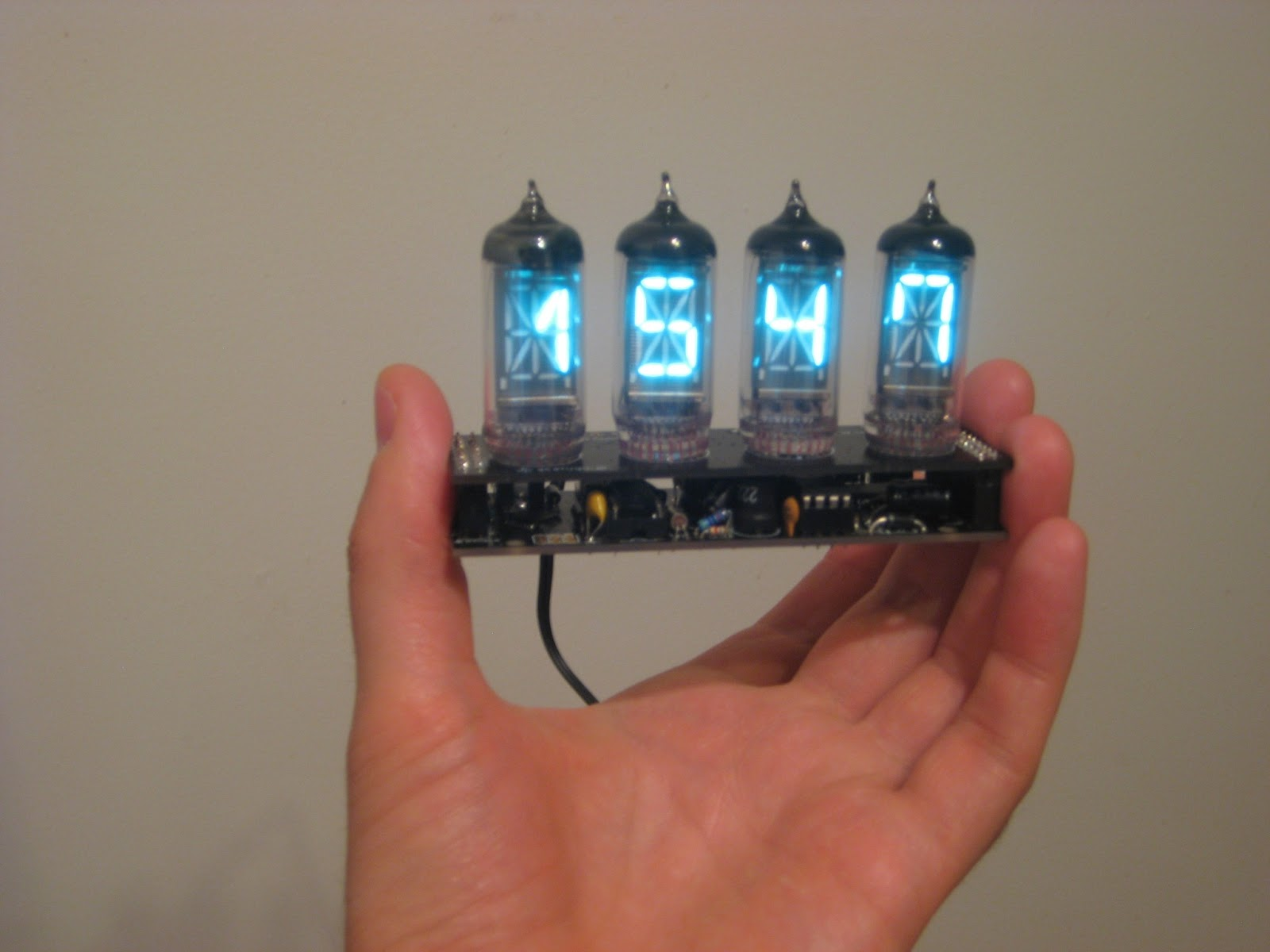 Posts With Nixie Label Circuit Schematic Tube Clock Kit Calculator