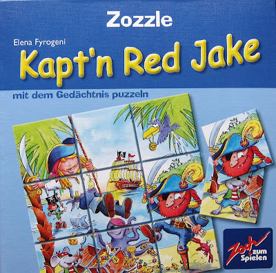 Zozzle - Kapt'n Red Jake, the box artwork