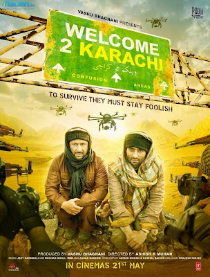 Welcome 2 Karachi – First Look Poster