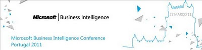 Microsoft Business Inteligence Conference Portugal 2011
