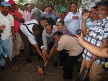 Gobierno inicia construcción centros educativos en Boruga y Quita Sueño en SC