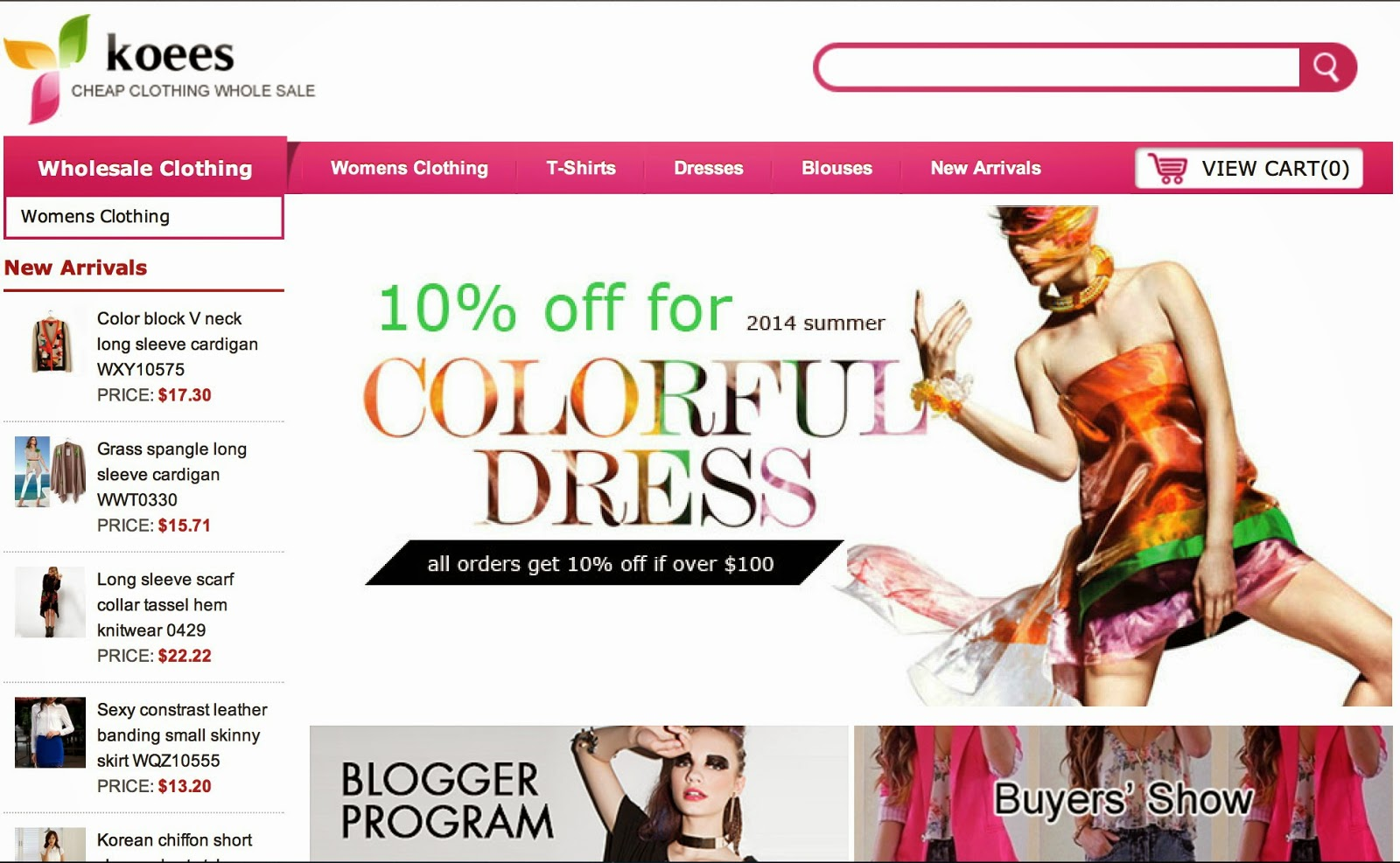 Wholesale Clothing Stores Online