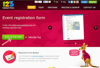 123ContactForm - Sign Up Free
