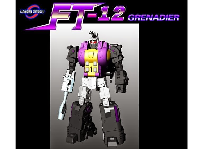 FansToys FT-12T GRENADIER