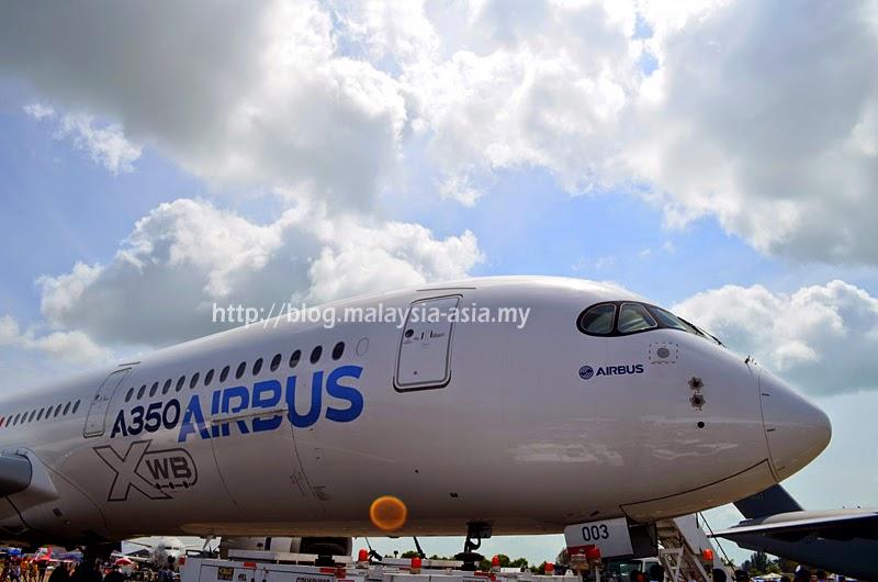 Malaysia Airbus A350 XWB Visit