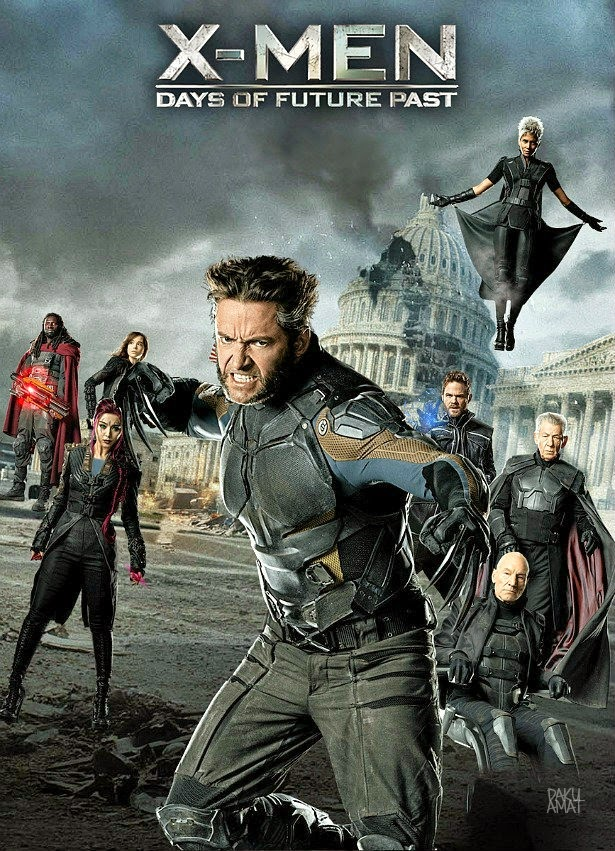 X Men : Days of Future Past (2014), Full Movie, Tonton Movie, Hollywood, English Movie.